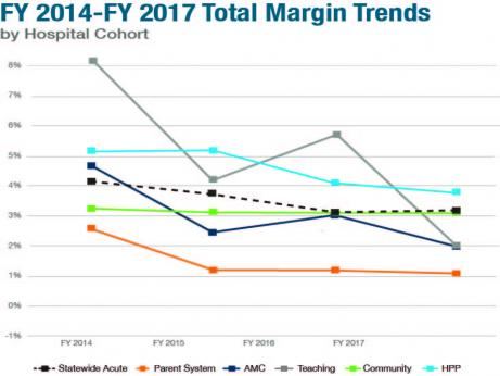 Massachusetts FY 2017 Annual Acute Hospital and Health System Financial Performance Report report page
